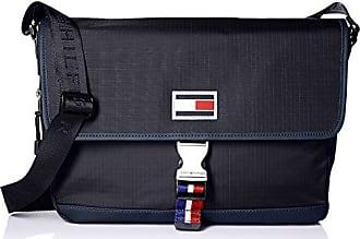 48db518bbb08 Tommy Hilfiger Messenger Bag for Men TH Sport Eyelets Ripstop