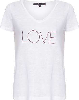 J. Chermann Camiseta Love - Branco