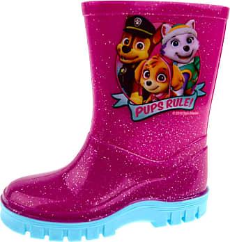 Lora Dora Girls Paw Patrol Welling Boots Infants, Pink Glitter, 7 UK Child