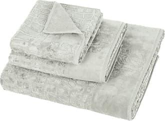 Roberto Cavalli Cocco Towel - Grey - Hand Towel