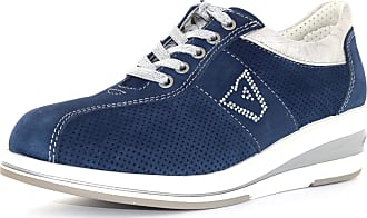 Valleverde snaekers shoes woman low 17143 BLUE size 38 Blue