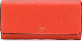 Mulberry rectangular logo wallet - Laranja