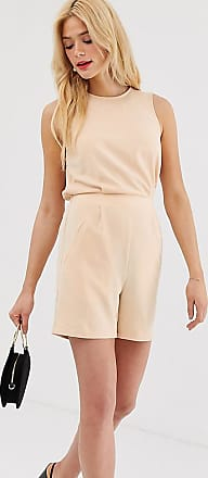 Y.A.S. Tall tailored playsuit-Pink