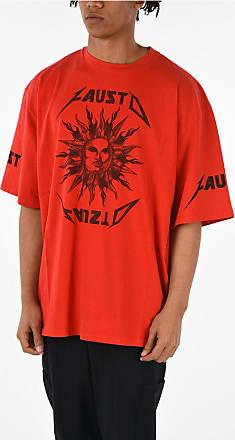FAUSTO PUGLISI T-shirt Oversized con Stampa taglia Xs