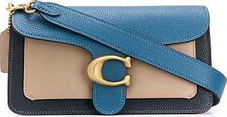 Coach Tabby colour-block shoulder bag - Azul