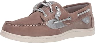 Sperry Top-Sider Sperry womens Songfish Boat Shoe, Dove, 6.5 US