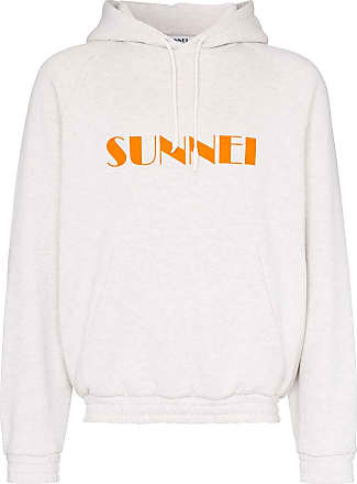Sunnei logo printed hoodie - Grey