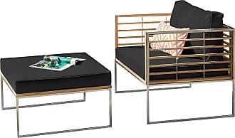 Studio Copenhagen home24 Loungeset Teakline Exkl. VII (2-tlg.)