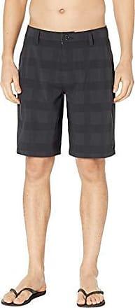 Rip Curl Mens Mirage Declassified 21 Boardwalk Hybrid Stretch Shorts, Black 19, 30