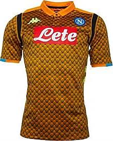 Kappa SC Napoli skin fit short sleeve euro goalkeeper jersey with KOMBAT and Hydro-Way technology
