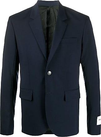 Zadig & Voltaire Version logo-patch blazer - Blue