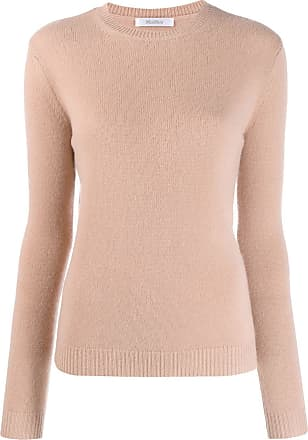 Max Mara round neck sweatshirt - Marrom