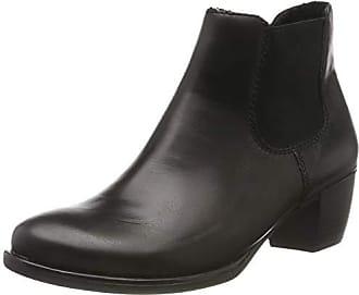 Remonte Damen Schuhe Stiefel Stiefelette Boots Chelsea R2286-45 grau Leder