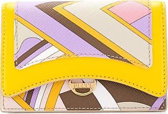 Emilio Pucci Carteira amarela com estampa Vivara Baby - Amarelo