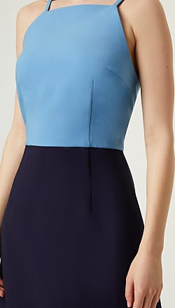 French Connection Whisper Color Block Dress