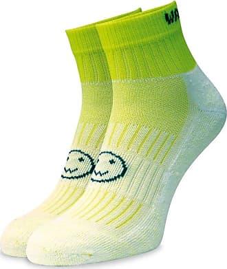 Wackysox Flo Green Ankle Running Socks