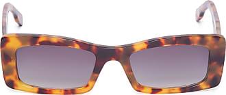 HELENA BORDON óculos Nolita Demi Degradê - Marrom