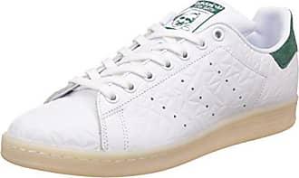 online store 68128 47c1e adidas Stan Smith, Scarpe da Ginnastica Basse Uomo, Bianco Ftwwht cgreen, 44