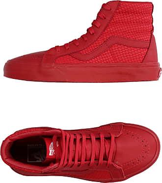 tenis vans rouge