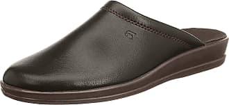 Rohde Lekeberg, Mens Open Back Slippers, Brown (Mocca 72), 5.5 UK (39 EU)