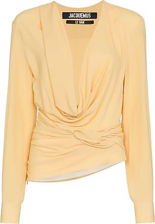 Jacquemus Camiseta mangas longas - Amarelo
