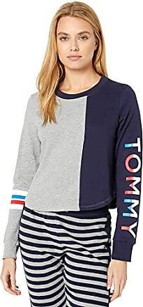 Tommy Hilfiger Womens Long Sleeve T-Shirt Pajama Top Pj