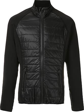 Osklen raglan padded jacket - Black