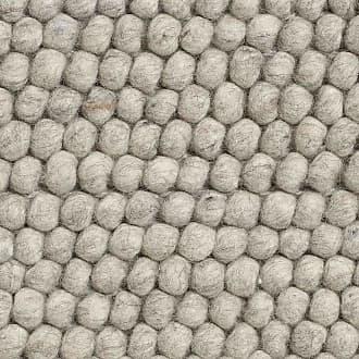 HAY Peas Teppich 140x80cm - soft grau/LxB 140x80cm