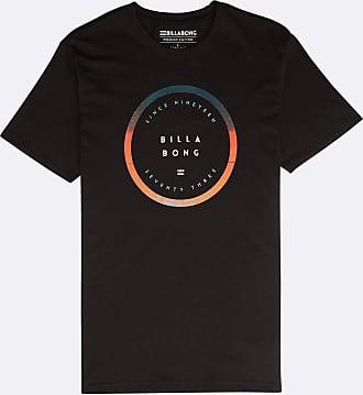 Billabong Mens Rotated Tee Ss T-Shirt, Black, Small