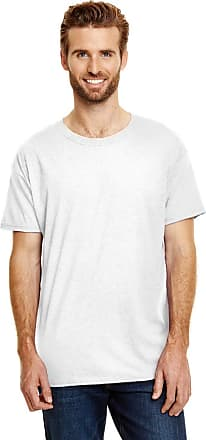 Hanes Mens X-Temp Fresh IQ Tri-Blend Performance Tee, XL, White