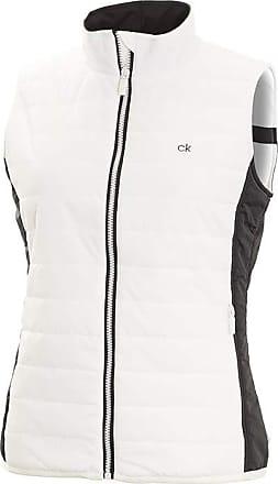 Calvin Klein Padded Shell Gilet - White - UK 12