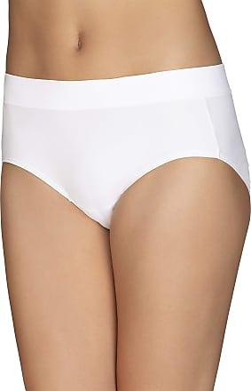 Vanity Fair Womens Beyond Comfort Hipster Panty 18212, White, 9