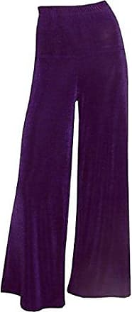 Lässig extra lang SLINKY Lagenlook Hose Stretchhose im Marlenelook dunkelblau
