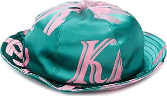 Kirin logo print bucket hat - Green