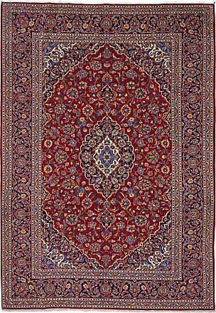Nain Trading 361x251 Tappeto Persiano Keshan Grigio Scuro/Viola (Annodato a mano, Persia/Iran, Lana)