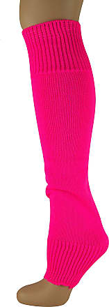 MySocks Leg Warmers Plain Neon Pink