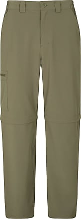 Mountain Warehouse Stride Zip-Off Mens Trousers - UPF50+ Winter Pants, Lightweight, Easy Pack Bottoms, Quick Dry, Casual -Ideal Mens Clothing for Work, Hiking, Travellin