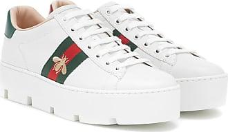 Gucci Plateau-Sneakers Ace aus Leder