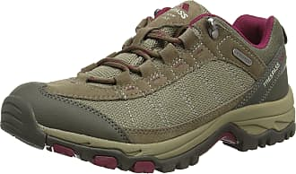 Trespass Scree, Brindle, 41, Waterproof Hiking Boots for Women, UK Size 8, Brown