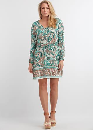 7cebfd77f5a2ee MS Mode Damen Tunika mit Paisley-Print Blau