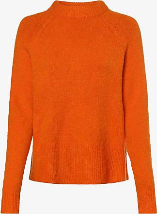 Y.A.S Damen Pullover mit Alpaka-Anteil - Yasneona orange