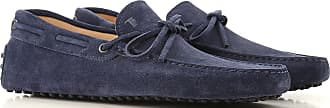Tod's Loafers for Men On Sale, galaxy blue, Suede leather, 2019, 10 10.5 11 12 5 5 5.5 6 6.5 7 7.5 8 8.5 9 9.5