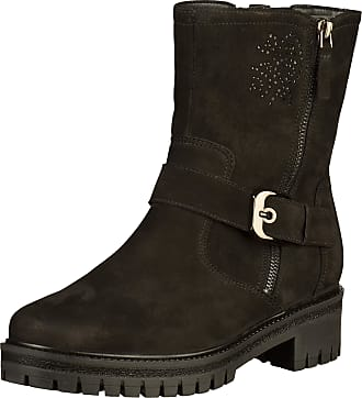 573bfdcf751 Ara 12-16419 G Womens Black Leather Booties, 5 UK