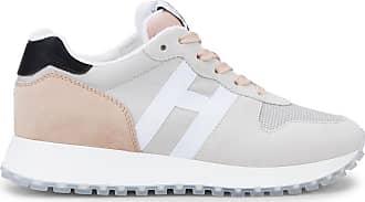 Hogan Sneakers H383, GRAU,ROSA, 34.5 - Schuhe