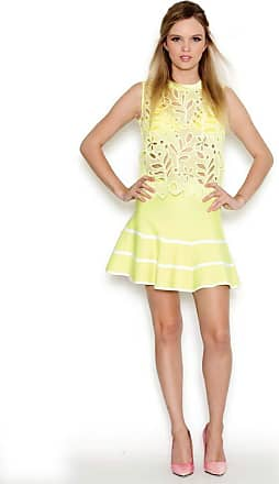 Lucy in the Sky Saia gode tricot amarelo P