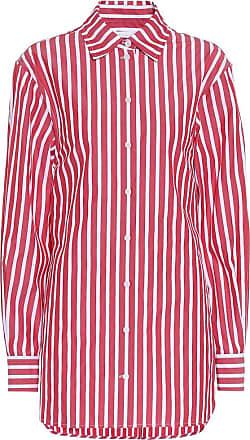Victoria Beckham Striped cotton poplin shirt