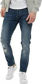 883 Police faded and distressed finish slim fit jeans