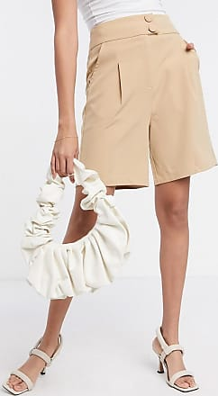 4th & Reckless Figurbetonte Shorts in Camel-Bronze
