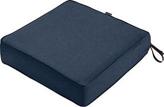 Classic Accessories Montlake FadeSafe Square Outdoor Patio Lounge Seat Cushion