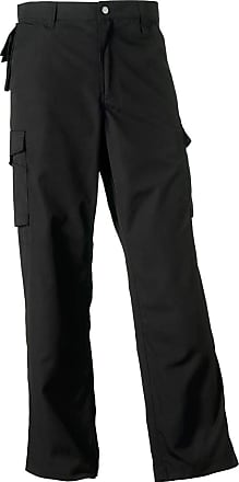 Russell Athletic New Russell Collection Heavy Duty Workwear Trousers Mens Work Trouser Pant36r
